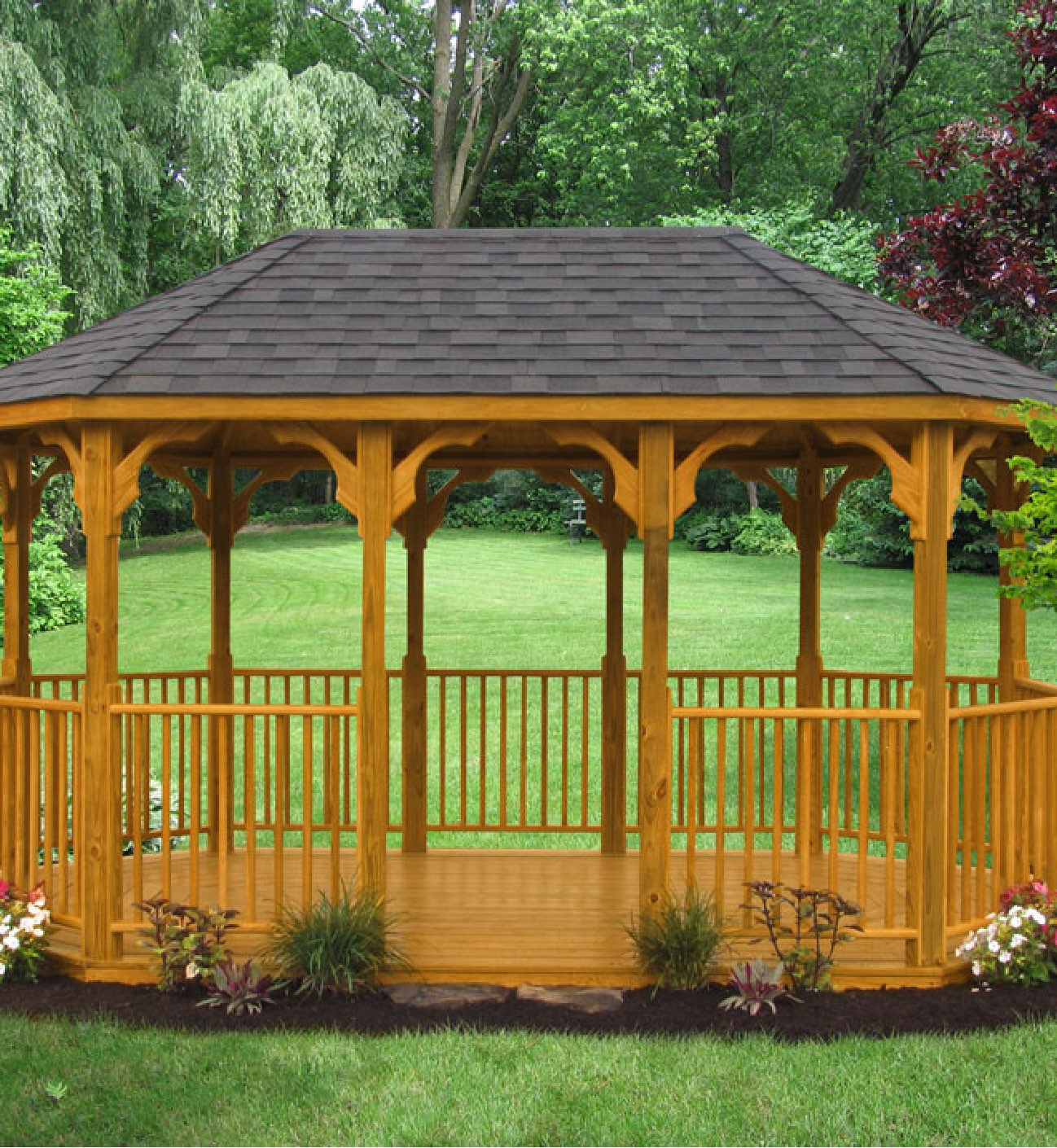 10' x 16' Value Wood Gazebo