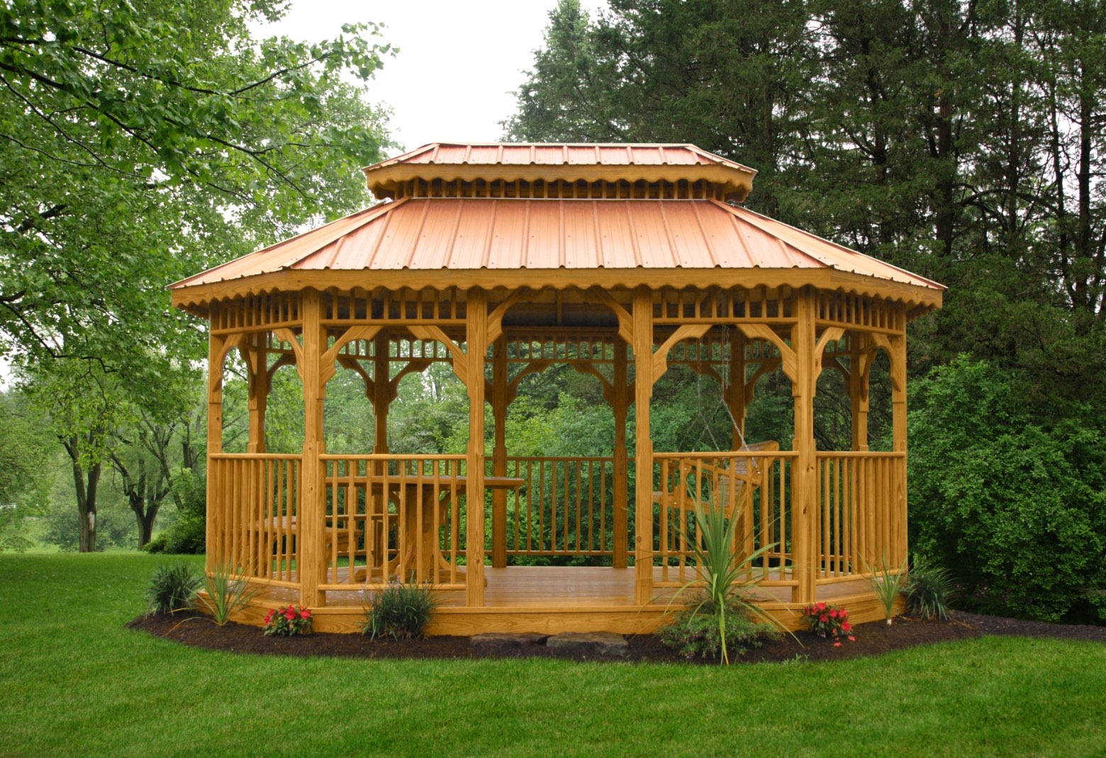 Kauffman's Gazebos | Premium Vinyl or Wood Gazebos ...